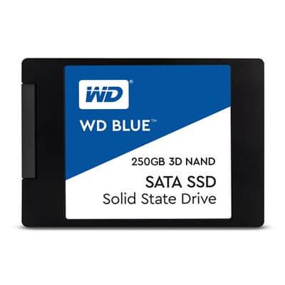"SSD 2,5"" 250GB WESTERN DIGITAL BLUE 3D WDS250G2B0A"