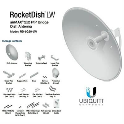 Ubiquiti 5GHz RocketDish RD-5G30