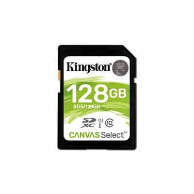 KINGSTON MEMORY CARD SDHC 128GB C10 UHS-I SDS/128GB