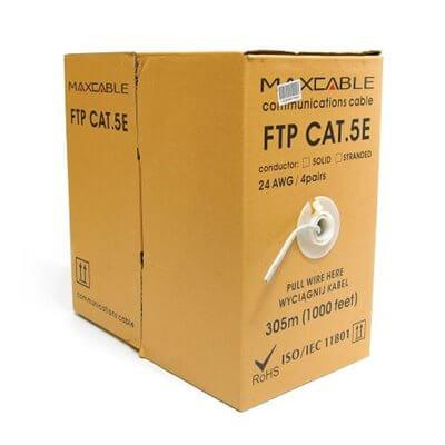 Cavo FTP Maxcable filo kat.5e 305m