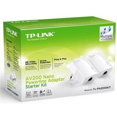TP-LINK Starter Kit Powerline AV500 TL-PA2010KIT