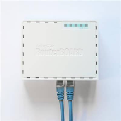 MIKROTIK ROUTERBOARD RB750Gr3 880 MHz  5 x 10/100/1000 Ethernet ports RouterOS l.4