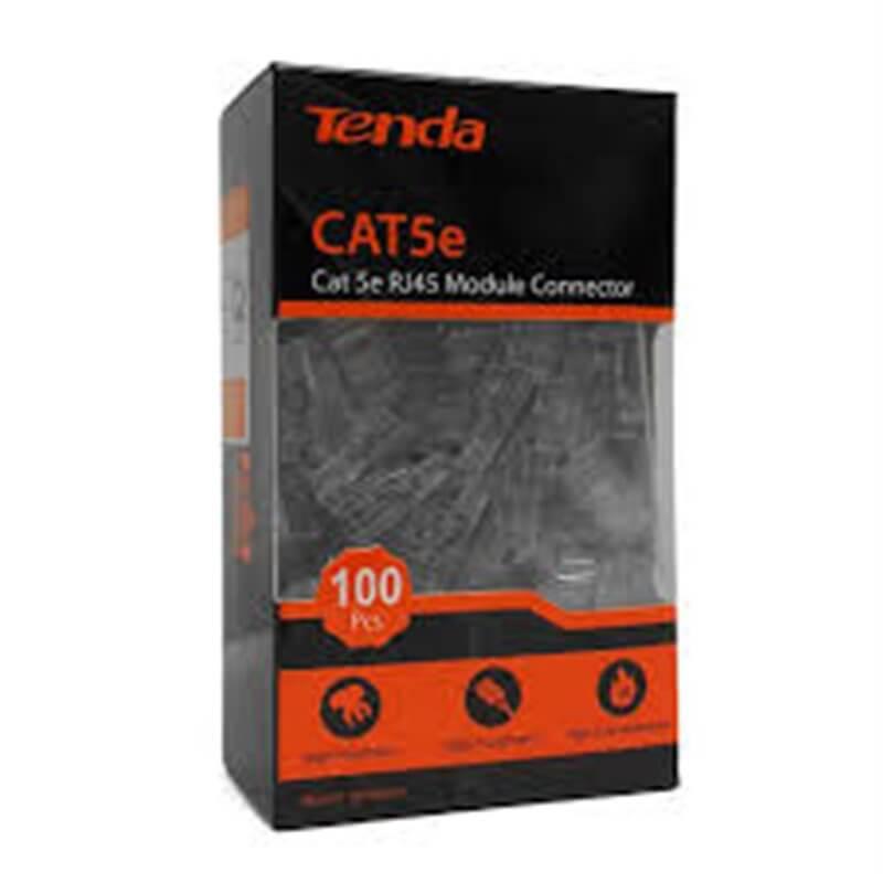 Tenda  TEH5E010 Connettori Cat 5 UTP placcati oro Fu - confezione 100 pezzi