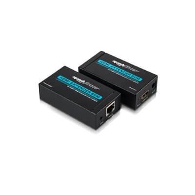 MACH POWER HDMI EXTENDER SU CAVO RJ45 FINO A 60M CON SUPPORTO 3D E HDMI CV-AD-013