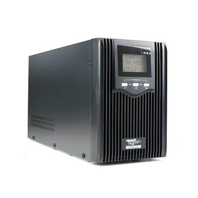 MACHPOWER UPS LINE INTERACTIVE ONDA SINUSOIDALE PURA 2400VA/1800W, DISPLAY LCD, STABILIZZATORE AVR, TOWER IN METALLO, 3 BATTERIE