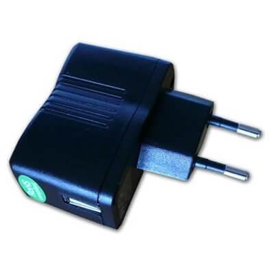 Alimentatore USB da muro AC/USB - Alimentatore Usb 500mA