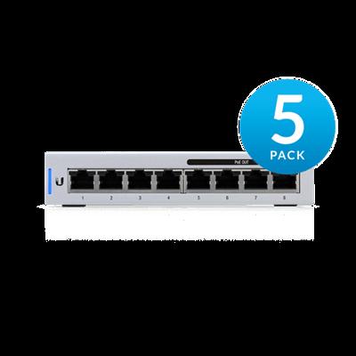 UniFi Switch  8 port US-8-60W 5 PACK