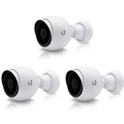 Ubiquiti UniFi Video Camera UVC-G3-BULLET-3 3 pack