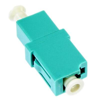 Opton adattatore LC/UPC MM Simplex, colore turchese  OP-AD-LCU-OM3-SX