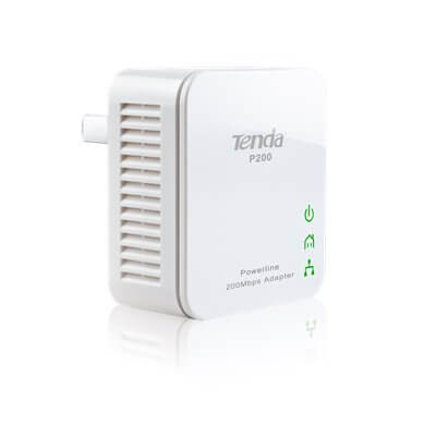 TENDA P200 MINI POWERLINE ADATTATORE HomePlug AV
