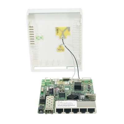 MIKROTIK ROUTERBOARD hAP ac  RB962UiGS-5HacT2HnT - 1XSFP,5xLAN, 2.4&5Ghz RouterOS Lv.4
