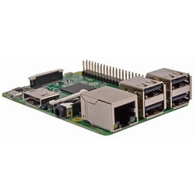 Raspberry Pi 3 Modello B SBC Quad Core CPU 1,2 GHz, 1 GB RAM ,WIFI + BLE