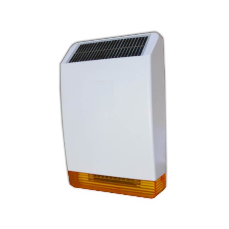 Sirena Wireless con Pannello Solare - Sirena Defender