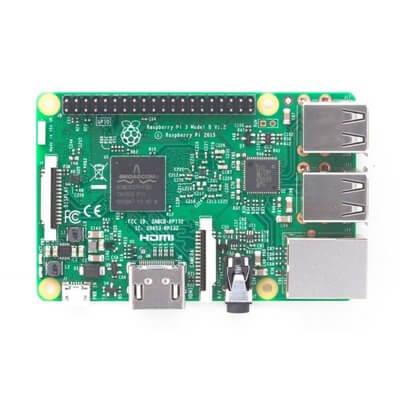 Kit (01) Raspberry Pi 3 Model B (1GB) Official Basic Starter Kit