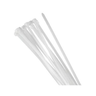 FASCETTE IN PLASTICA TRASPARENTE 30X0.35CM VULTECH SN21503 (CONF. 100PZ)