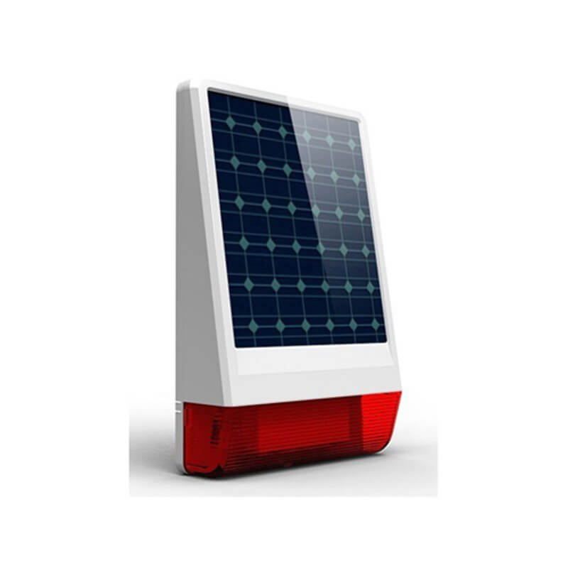Sirena Wireless con Pannello Solare - SC-SUN