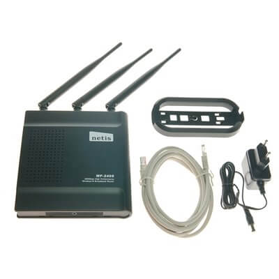 NETIS WF2409 300MBPS WIRELESS N 2.4GHZ 802.11BGN ACCESS POINT ROUTER