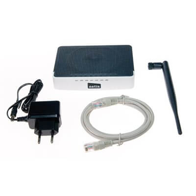 NETIS WF2411D 150MBPS WIRELESS N 2.4GHZ 802.11BGN ACCESS POINT ROUTER ANTENNA STACCABILE