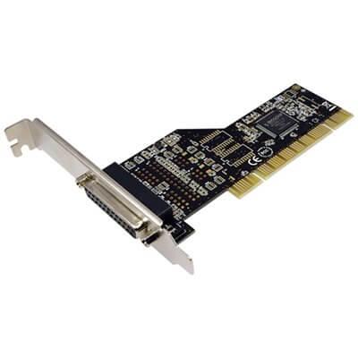 SCHEDA DI ESPANSIONE CON PORTA PARALLELA PCI LOGILINK PC0013