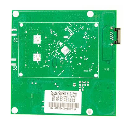 MIKROTIK ROUTERBOARD 911 Lite2  RB911-2Hn - Wireless Access Point, 1xLAN, 2.4Ghz RouterOS Lv.3