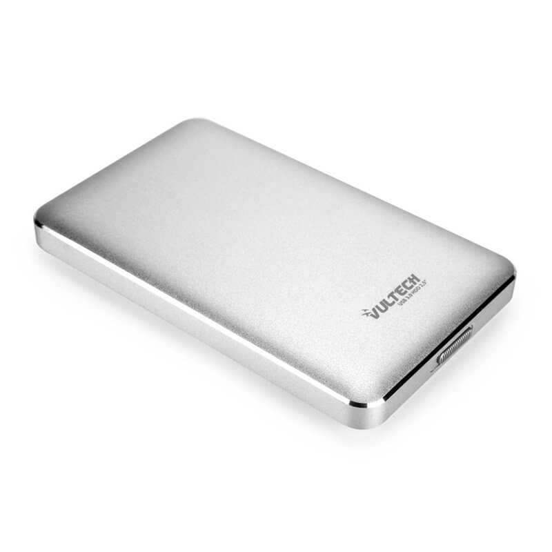 """VULTECH BOX ESTERNO 2.5"""" HDD SATA USB 3.0 - SILVER GS-45U3S"""
