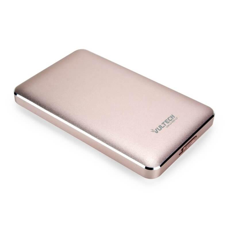 "VULTECH BOX ESTERNO 2.5"" HDD SATA USB 3.0 - ROSA GS-45U3P"