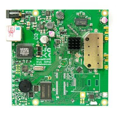 MIKROTIK ROUTERBOARD RB911G-5HPnD- Wireless Access Point, 1xLAN, 5Ghz RouterOS Lv.3