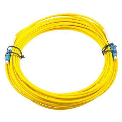 OPTON fibra ottica patch cord LC-LC SM singlemode- monomodale 9/125 SIMPLEX 3.0mm LSZH 15m