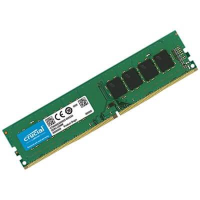 RAM DIMM DDR4 2133MHZ 4GB C15 CRUCIAL CT4G4DFS8213