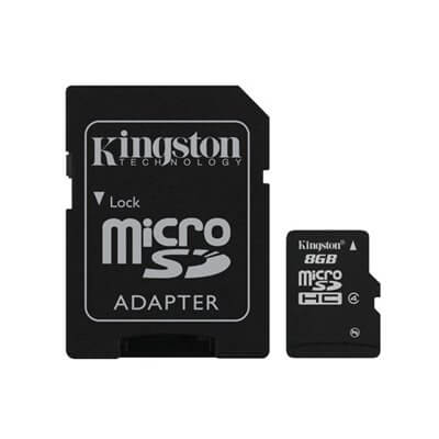 MEMORY KINGSTON CARD SDHC-MICRO 8GB c4