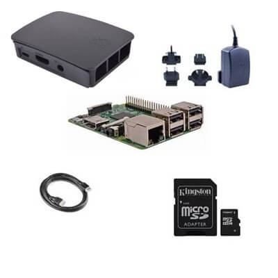 Raspberry Pi 3  Model B (1GB) 16GB NOOBS Starter Kit (E04)