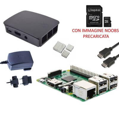 Raspberry Pi 3  Model B (1GB) 16GB NOOBS Starter Kit (E05)