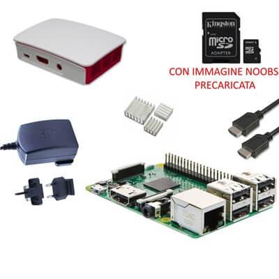Raspberry Pi 3  Model B (1GB) 16GB NOOBS Starter Kit (E06)