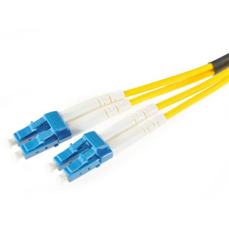 OPTON patchcord fibra ottica LC-LC SM singlemode- monomodale 9/125 DUPLEX 3.0mm LSZH 5m.OP-LCU-LCU-SM-DX-5