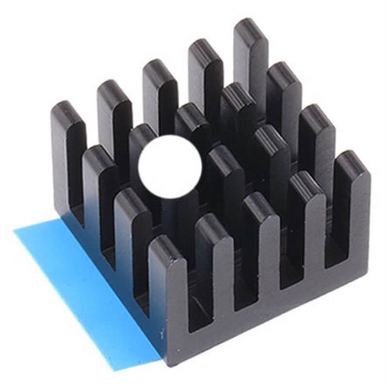 Dissipatore ABL Components per BGA, 27K/W, 13 x 13.5 x 10mm per Raspberry Pi