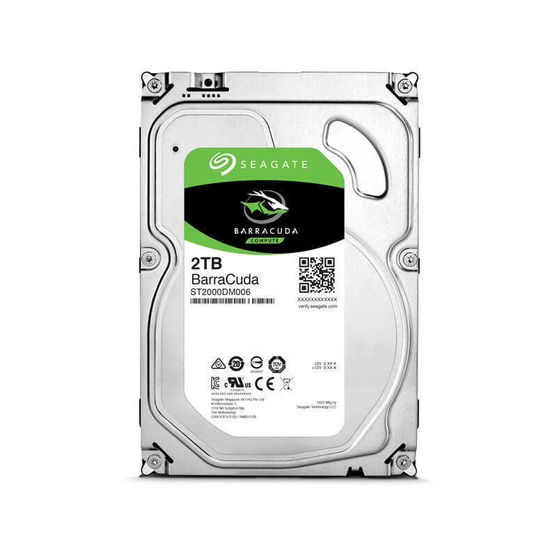 "HDD HARD DISK 3,5"" 2TB 2000GB 64MB SEAGATE ST2000DM006"