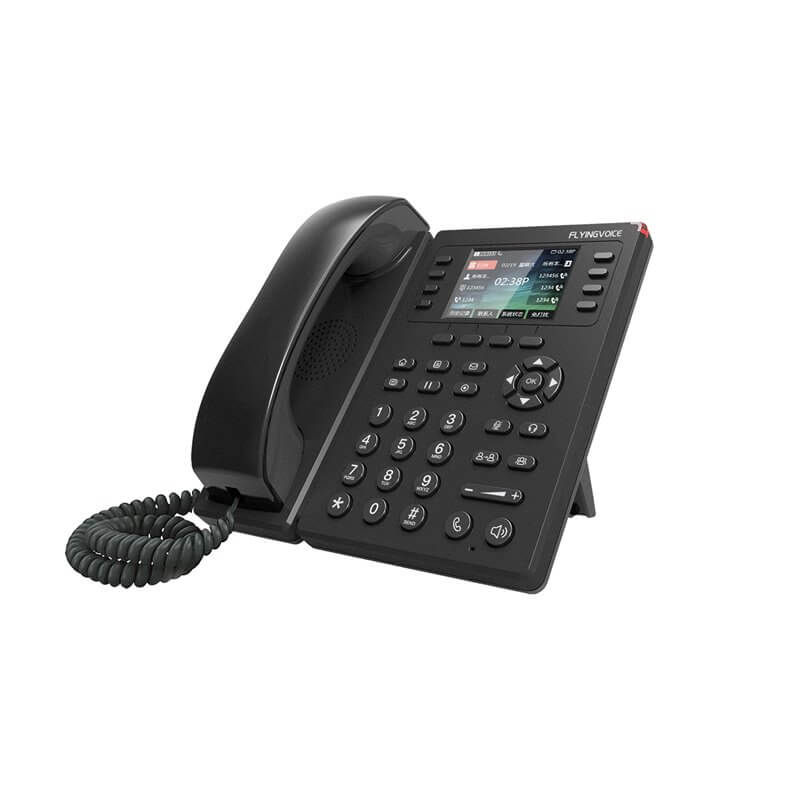 FLYING VOICE FIP11W COLOR SCREEN  VOIP IP Phone , WIFI , POE