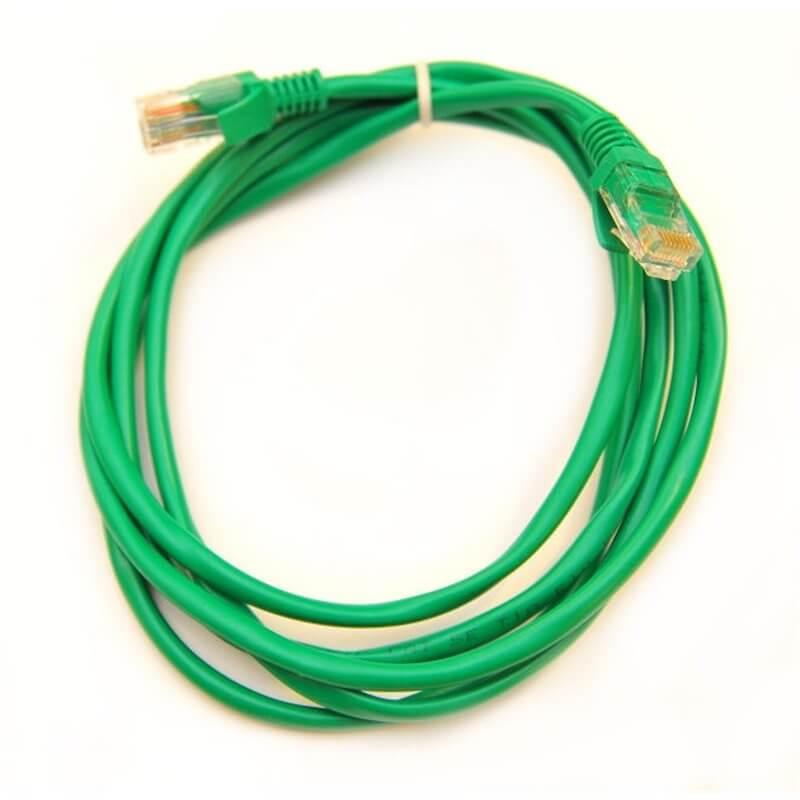 Cavo UTP PatchCord 2 Metri  cat.5e colore verde
