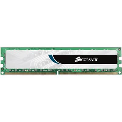 RAM DIMM DDR3 1333MHZ CL9 2GB CORSAIR VS2GB1333D3