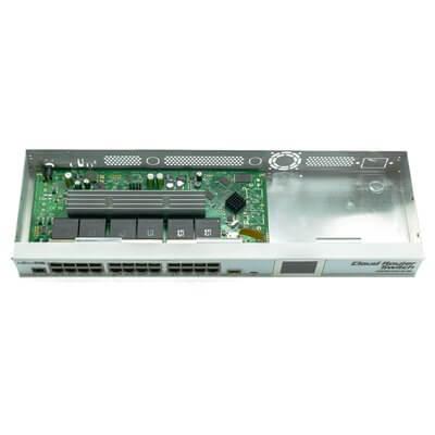 MIKROTIK CLOUD ROUTER SWITCH CRS125-24G-1S-RM , 24xLAN, 1xSFP,  RouterOS Lv.5