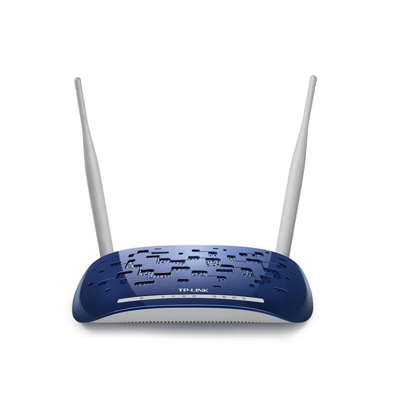 MODEM ROUTER ADSL2+ WIRELESS N 300MBPS 4*ETHERNET TP-LINK TD-W8960N
