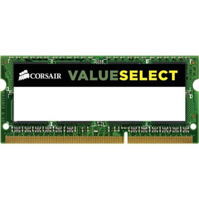 RAM SO-DIMM DDR3 1600MHZ CL11 8GB CORSAIR CMSO8GX3M1A1600C11