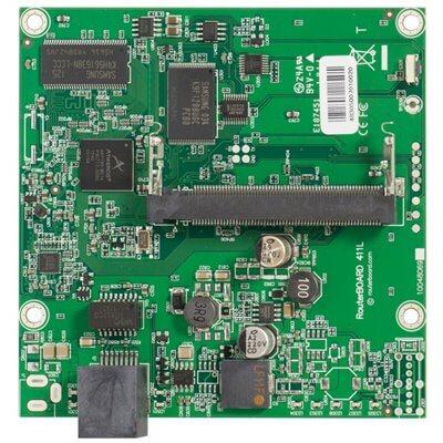 MIKROTIK ROUTERBOARD RB411L , 1xLAN, 1xmPCI,  RouterOS Lv.3