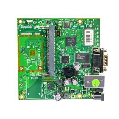 MIKROTIK ROUTERBOARD RB411 , 1xLAN, 1xmPCI,  RouterOS Lv.3