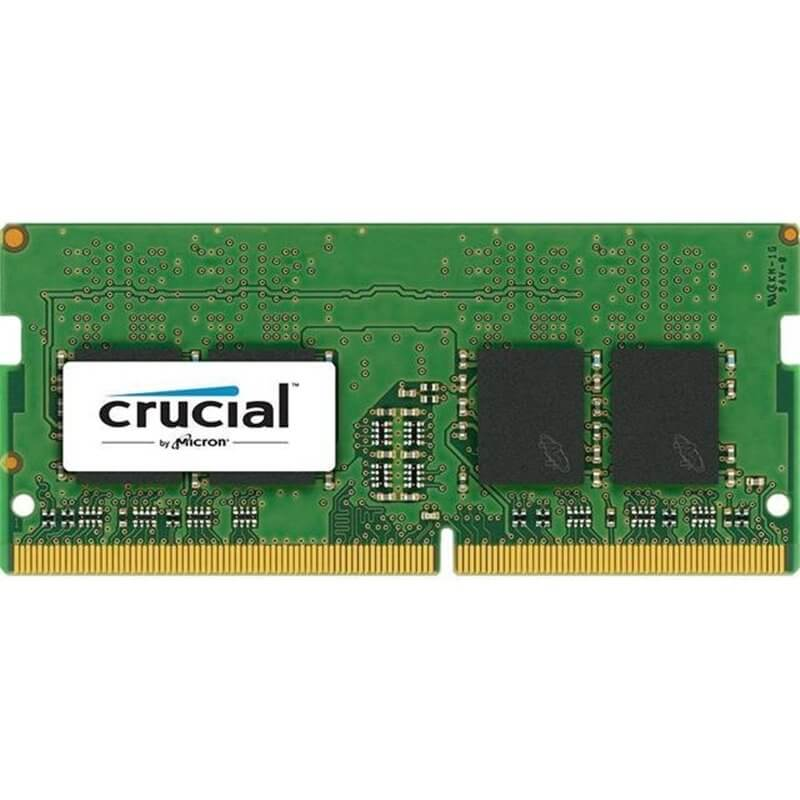 RAM SO-DIMM DDR4 2133MHZ CL15 4GB CRUCIAL CT4G4SFS8213