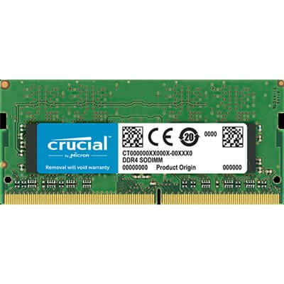 RAM SO-DIMM DDR4 2133MHZ CL15 8GB CRUCIAL CT8G4SFD8213
