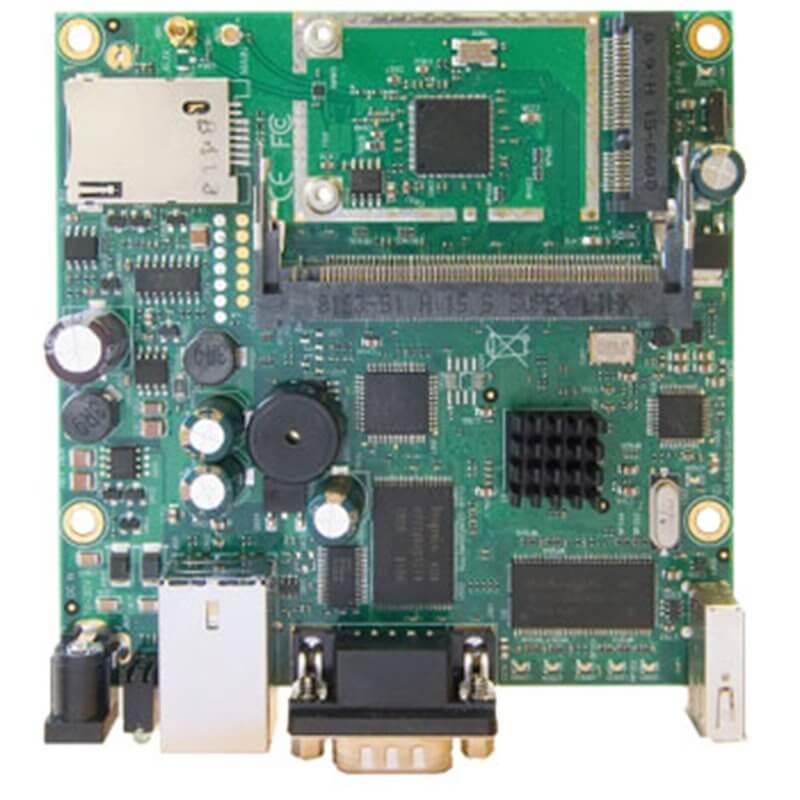 MIKROTIK ROUTERBOARD RB411U , 1xLAN, 1xmPCI,  RouterOS Lv.4