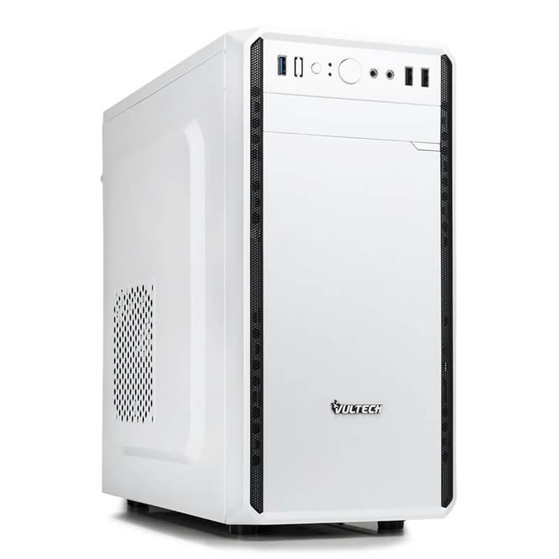VULTECH CASE MICRO ATX GS-2688B CON ALIMENTATORE 500W BIANCO