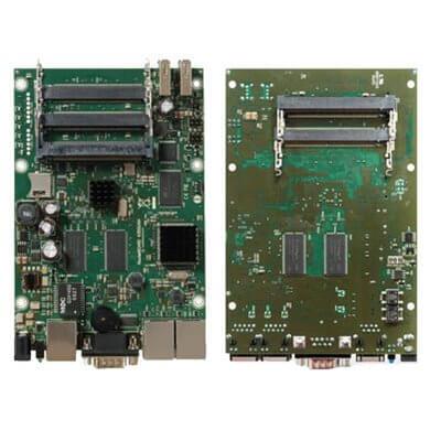 MIKROTIK ROUTERBOARD  RB435G, 3xLAN, 5xmPCI, RouterOS Lv.5