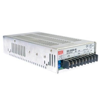 Mean Well convertitore di tensione SD-200B-48 24--48V 200W (4.2A)MW-SD-200B-48
